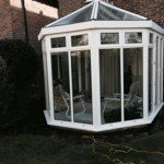 Conservatory cleaning after