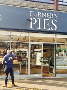 Cleaning at Turner Pies