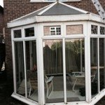 Conservatory cleaning before