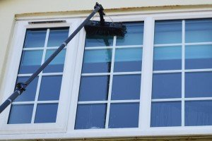 Water Pole Fed Window Cleaning